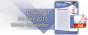 Dec 2015 MIArb Newsletter